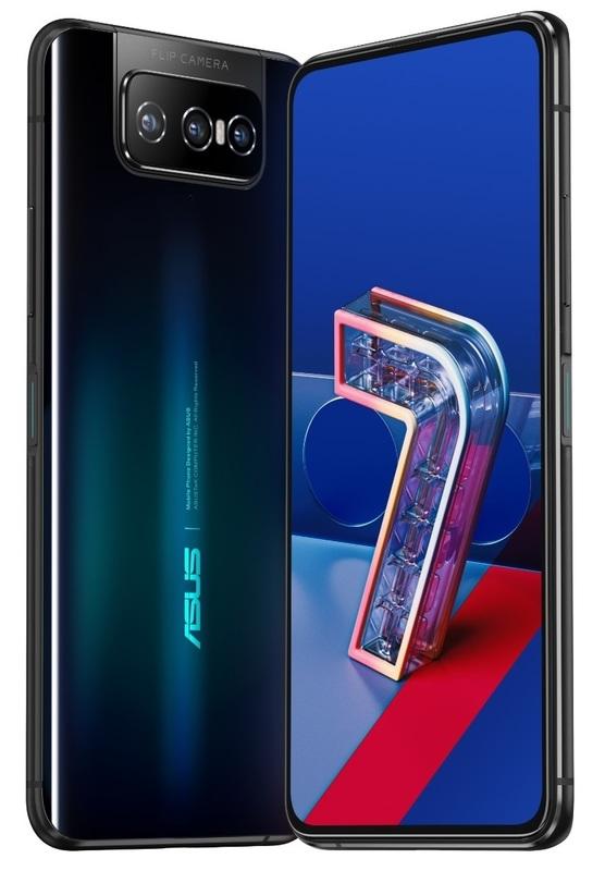 Asus Zenfone 7 5G (128GB/8GB RAM) - Black