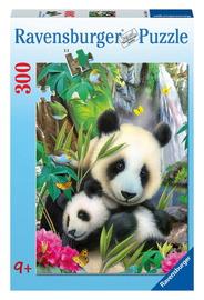 Ravensburger 300 Piece Jigsaw Puzzle - Cuddling Pandas