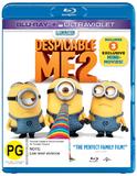 Despicable Me 2 on Blu-ray, UV