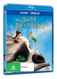Tinker Bell and the Legend of the NeverBeast on Blu-ray