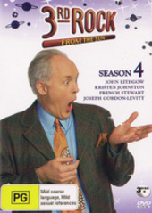 3rd Rock From The Sun Season 4 (3 Disc) on DVD