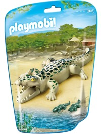 Playmobil: Zoo Theme - Alligator with Babies (6644)