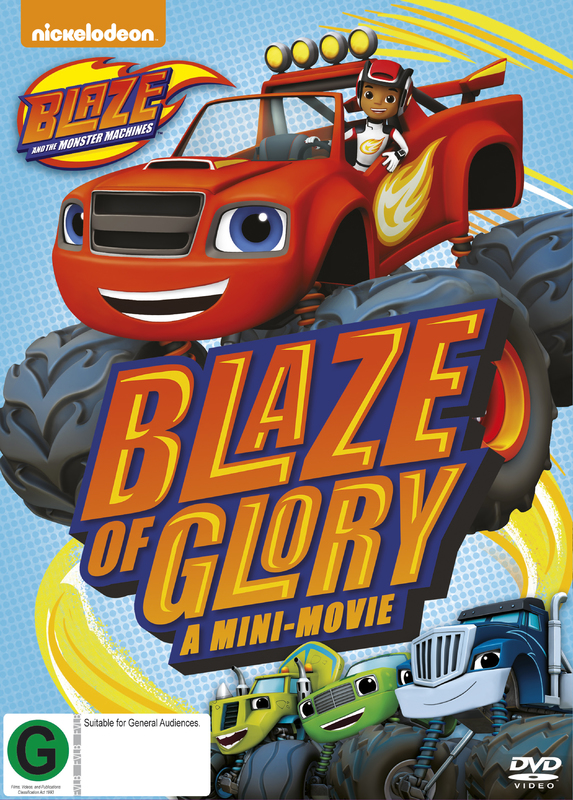 Blaze And The Monster Machines - Blaze Of Glory / The Driving Force on DVD