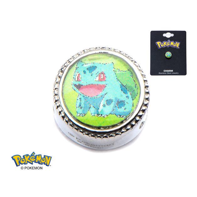 Pokemon Bulbasaur Bead Charm