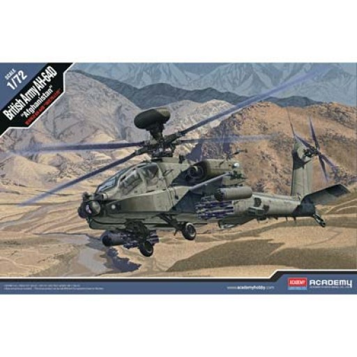 Academy 1/72 AH-64D British Army Afghanistan Model Kit image