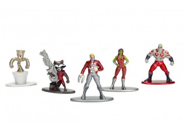 Jada Metal Minis: Marvel - Nano Metalfigs 5-Pack #2