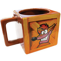 Crash Bandicoot Crate Mug