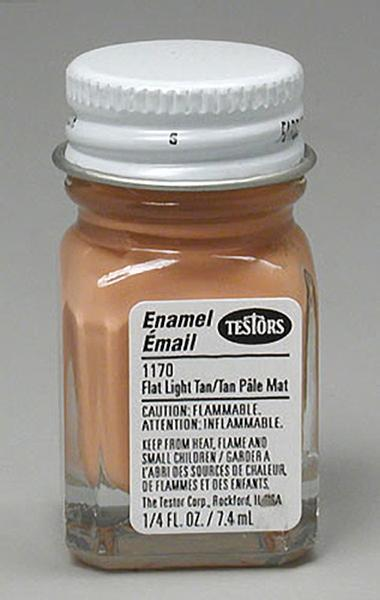 Testors: Enamel Paint - Flat Light Tan