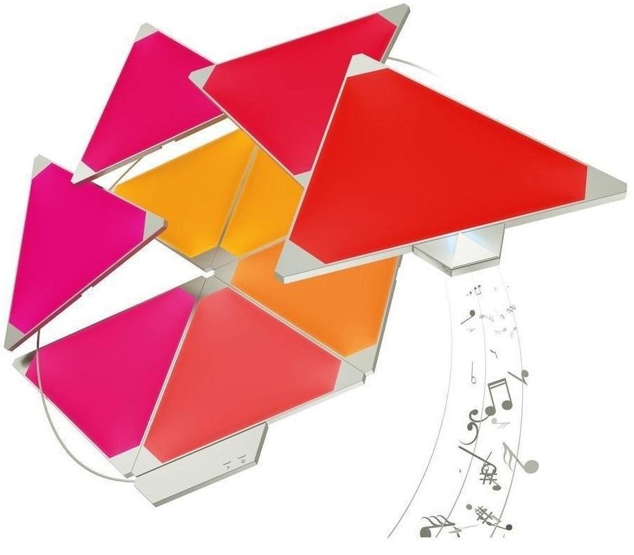 Nanoleaf Light Panels Smarter Kit (incl Rhythm/9 panels) image