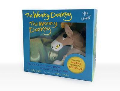 The Wonky Donkey Book & Toy Boxed Set by Craig Smith