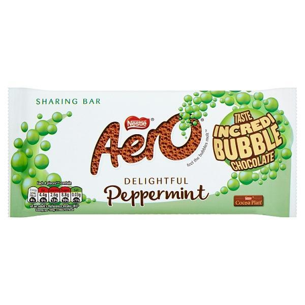 Nestle Aero Peppermint Block 100g