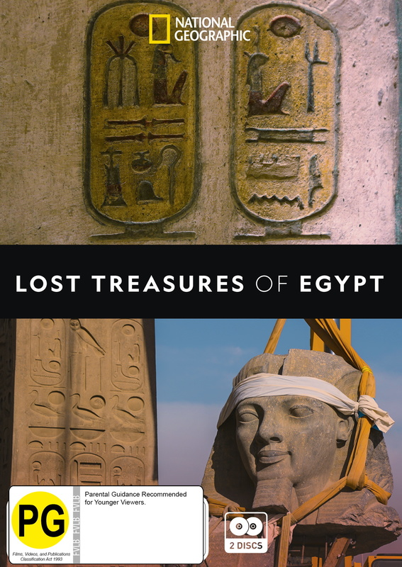 Lost Treasures of Egypt on DVD