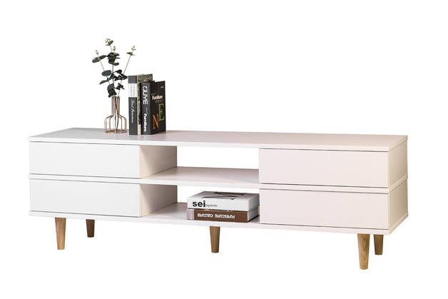 Bellonna Entertainment Unit - White