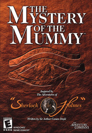 Sherlock Holmes: The Mystery of the Mummy (Jewel case packaging) for PC Games image