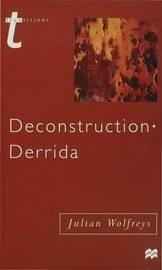 Deconstruction - Derrida by Julian Wolfreys image