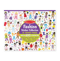 Melissa & Doug: Fashion Sticker Collection