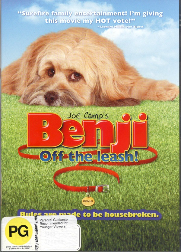 Benji: Off The Leash! on DVD image