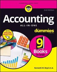 Accounting All-in-One For Dummies by Joseph Kraynak