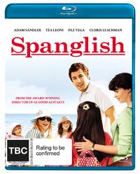 Spanglish on Blu-ray