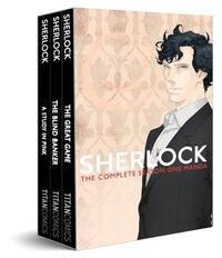 Sherlock Series 1 Boxed Set by Steven Moffat