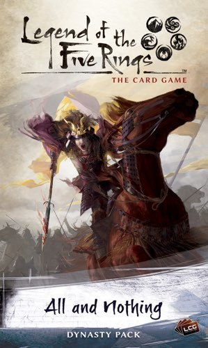 Legend of the Five Rings LCG: All and Nothing image