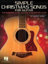 Simple Christmas Songs for Guitar by Hal Leonard Publishing Corporation image