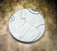 Secret Weapon Beveled Edge Base: 60mm Alien Temple 01 image