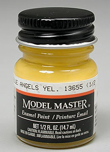 Testors: Enamel Paint - Blue Angels Yellow (Gloss)
