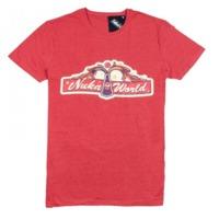"""Fallout T-Shirt """"Nuka World Main Gate"""", M"""