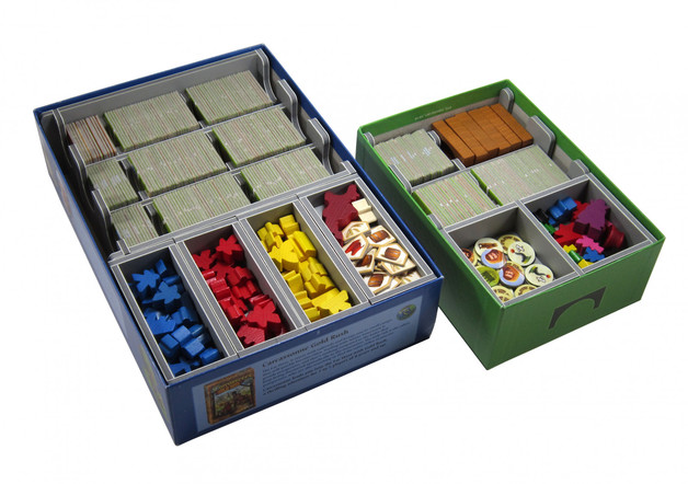 Folded Space: Game Inserts - Carcassonne