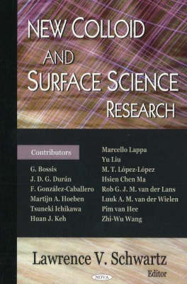 New Colloid & Surface Science Research image