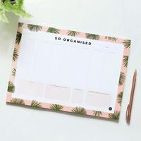Desk Planner So Organised - A4 (50 Pages)