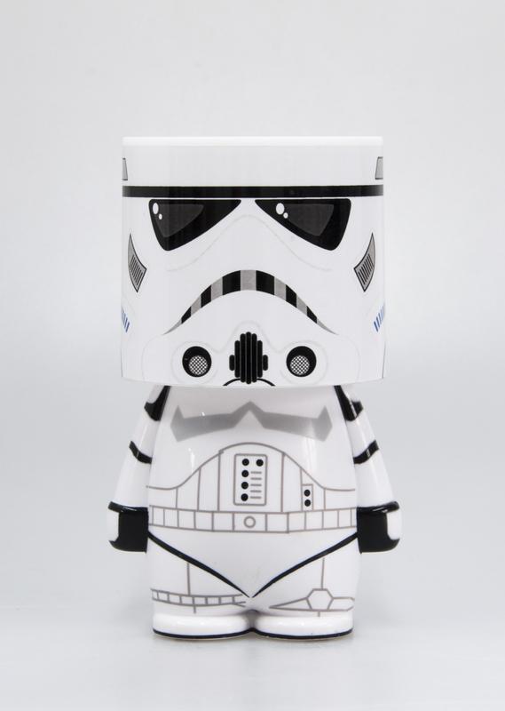 Star Wars: Storm Trooper Look-ALite LED Table Lamp - White