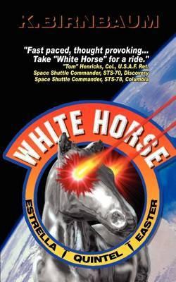 White horse by Kevin Birnbaum