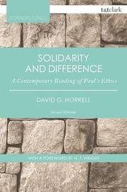 Solidarity and Difference by David G Horrell