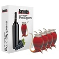 Port Sippers - Set of 4