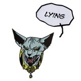Saga - Lying Cat Pin Set