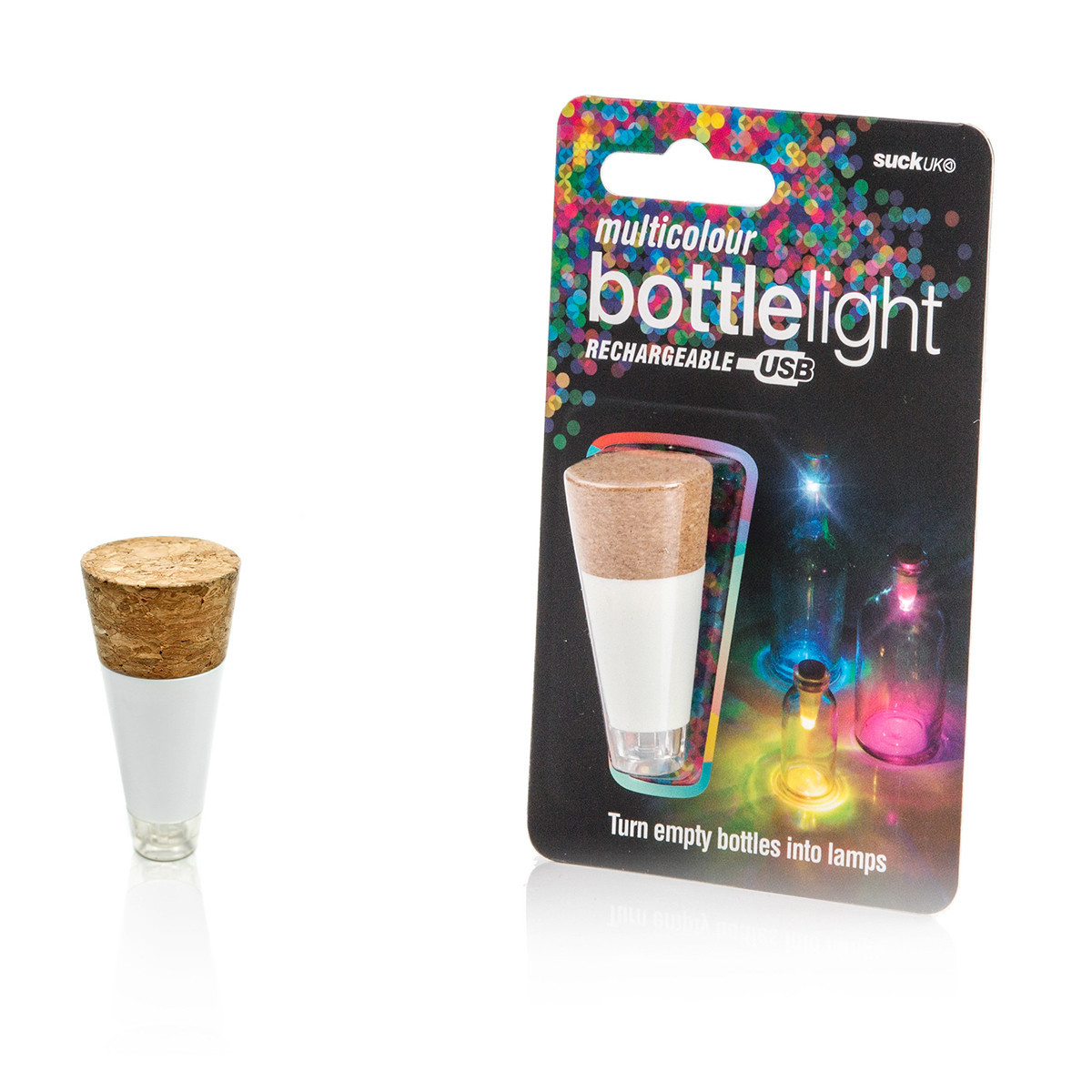Suck Uk: Bottle Light Multicolour image