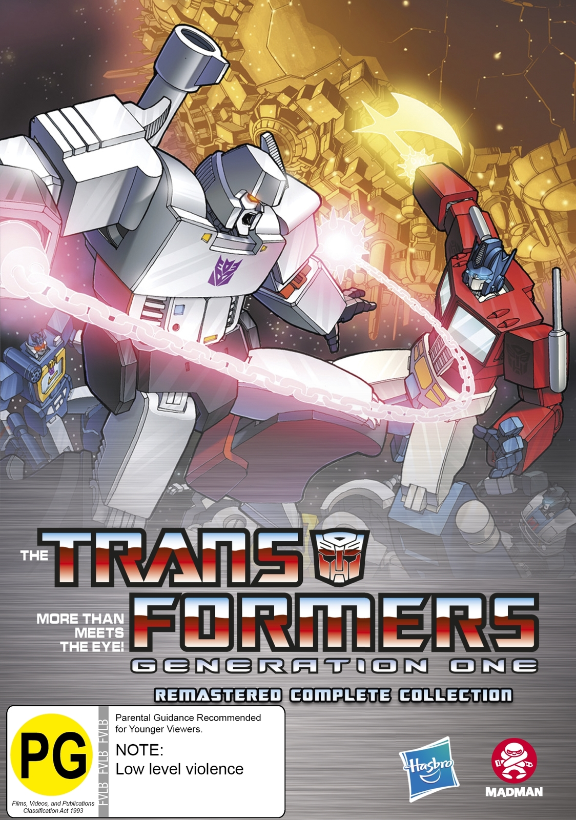 Transformers Generation One Remastered Complete Collection (12 Disc Fatpack) on DVD image