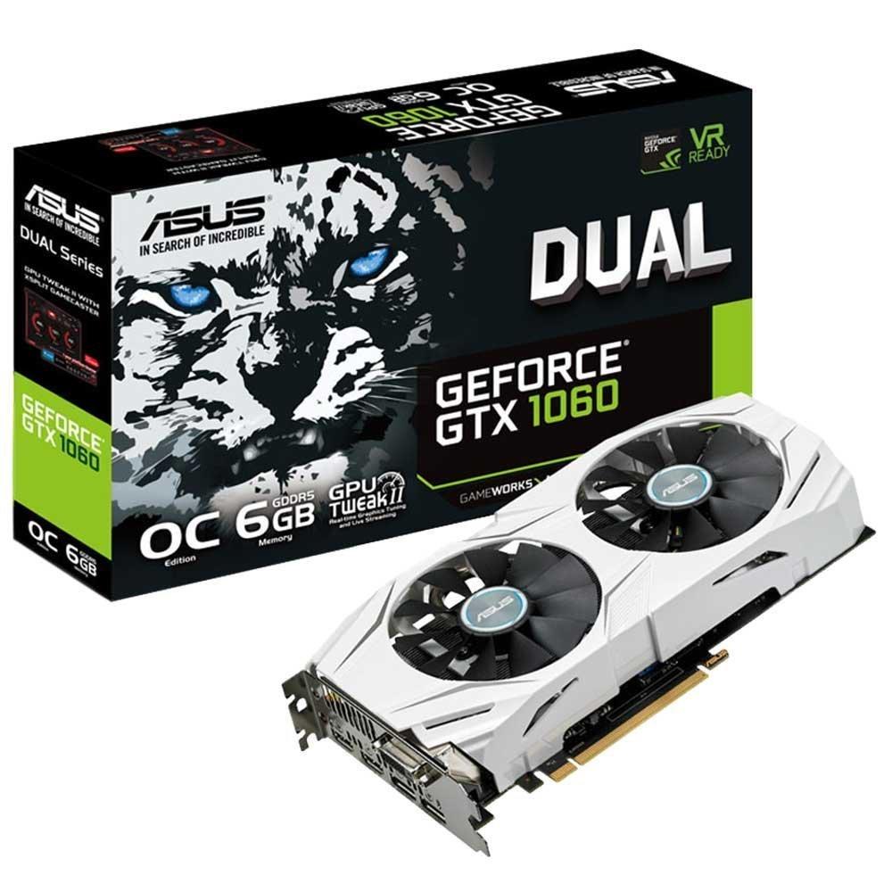 ASUS GeForce GTX 1060 6GB Dual Graphics Card image