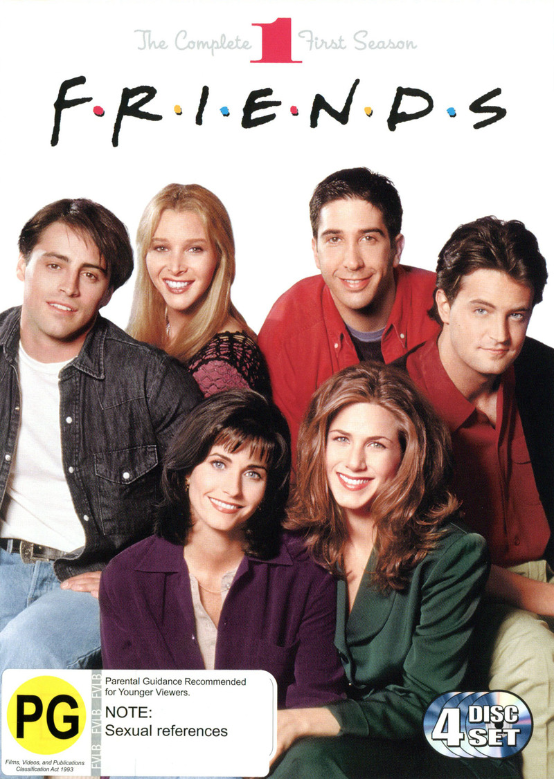 Friends - Season 1 on DVD image
