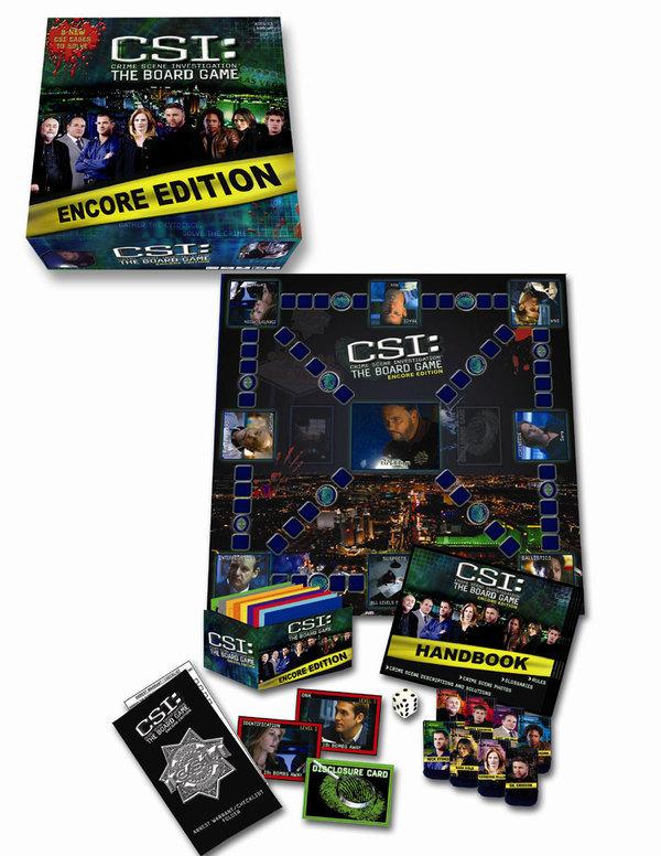 CSI: Board Game - Encore Edition