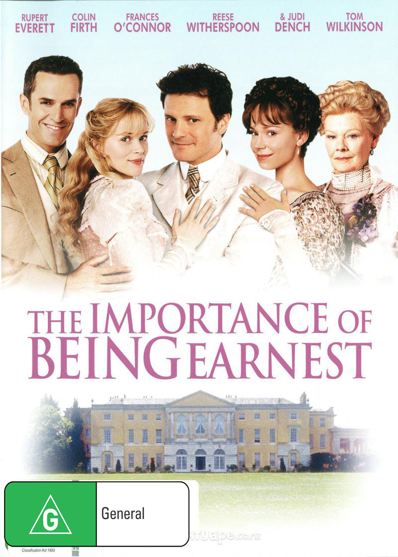 The Importance of Being Earnest on DVD image