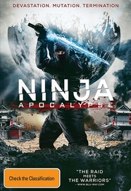 Ninja Apocalypse on DVD