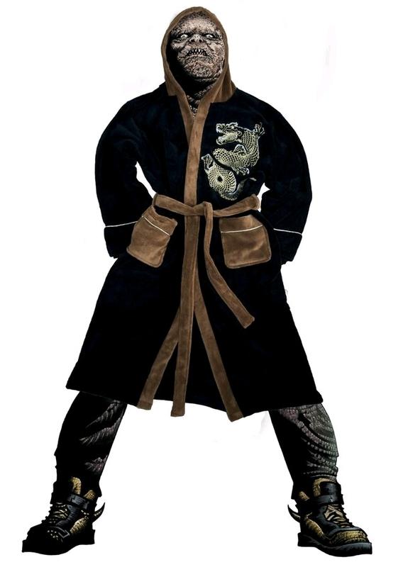 Suicide Squad - Killer Croc Hoodless Robe