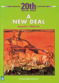 The New Deal: America 1932-45 2nd Booklet of Second Set by Josh Brooman image