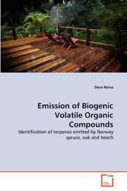 Emission of Biogenic Volatile Organic Compounds by Dora Neina