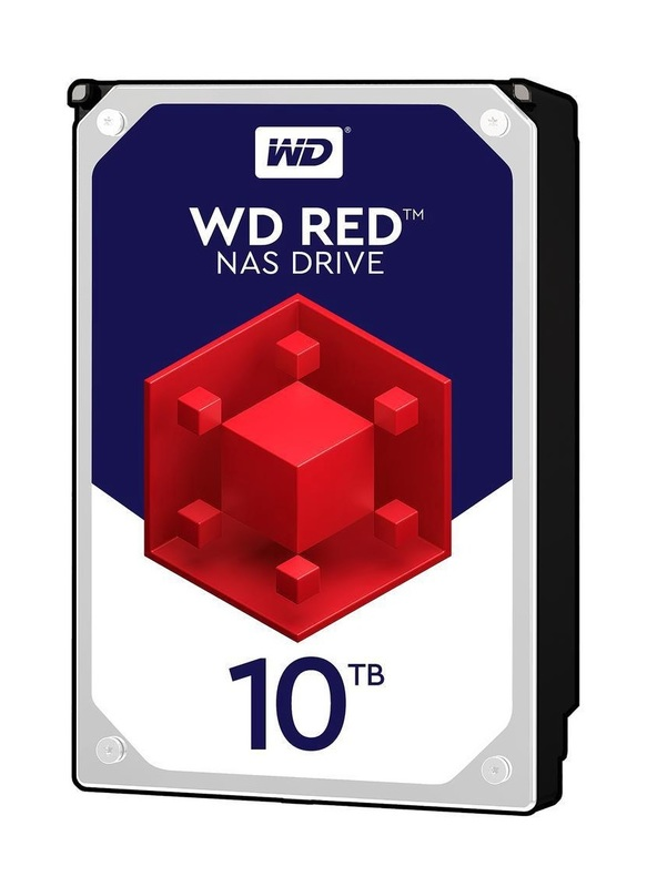 """10TB WD Red - 3.5"""" IntelliPower NAS HDD (5400RPM)"""