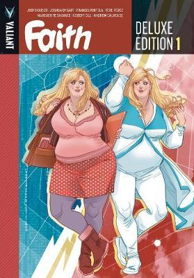 Faith Deluxe Edition Book 1 by Jody Houser image