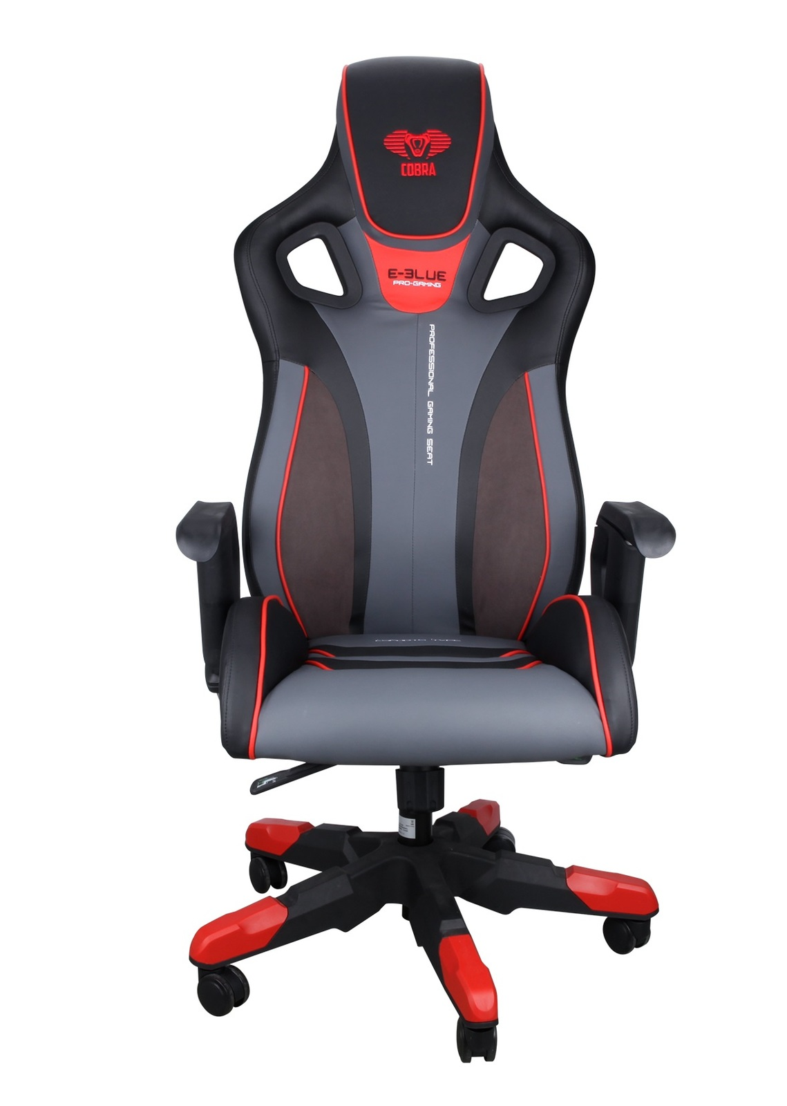 E-Blue Cobra Gaming Chair Large (Red) for  image